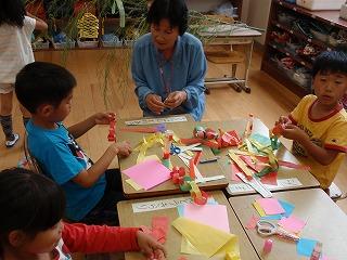 笹飾り作り