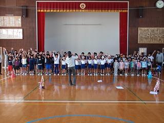 全校合唱練習