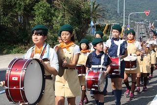 鼓笛パレード①