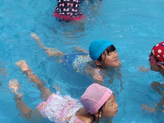 1年水泳⑨