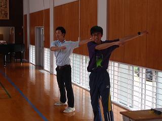 ラジオ体操④