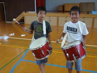 鼓笛練習②