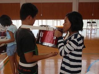 鼓笛練習③