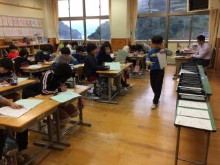 長崎県 五島列島 魚目小学校